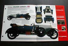 1913 ROLLS-ROYCE SILVER GHOST UNIQUE IMP BROCHURE