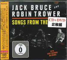 JACK BRUCE AND Robin Trower-Songs from the Road-JAPAN CD + DVD g09