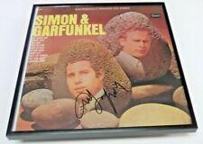 ART GARFUNKEL Simon & Garfunkel SIGNED + FRAMED Sears Vinyl Record Album