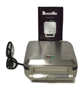 Breville Nonstick Stainless Steel Personal Mini Pie Maker #BPI640XL Instructions