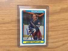 LINDY RUFF SIGNED  CARD