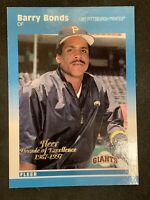 BARRY BONDS 1997 FLEER GLOSSY DECADE OF EXCELLENCE #2 Rare SF GIANTS