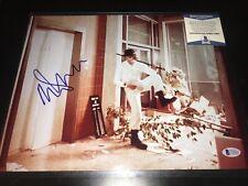 Malcom Mcdowell Signed 11x14 Photo Bas Beckett Coa A Clockwork Orange Autograph