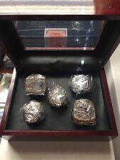 New England Patriots Super Bowl Ring Set with Display Box