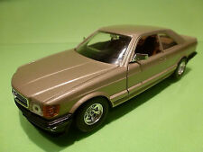 BBURAGO 0111 MERCEDES BENZ 500 SEC - GOLD 1:26 - EXCELLENT