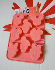 Disney Mickey Mouse & Friend Silicone Mold Chocolate Cake jello party food Mould