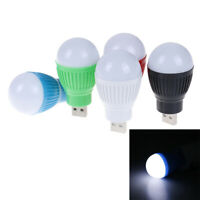 DC portable 5V 5W LED usb white light bulb lamp for laptop computer reading JR#