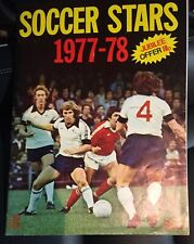 Mint condition FKS Soccer Stars 1977-1978 complete 77 - 78