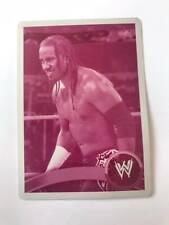 2011 Topps WWE JEY USO 1/1 magenta PRINTING PLATE  CARD 12 RARE
