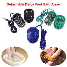 Foot Spa Bath Footbath Ions Ionic Detox Array Aqua CleanseMassage Machine RelRIB
