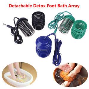 Foot Spa Bath Footbath Ion Ionic Detox Array Aqua Cleanse Massage Machine Re.BI