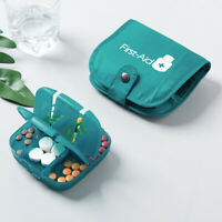 1X Portable Medicine Case Pill Box Storage Bag Outdoor Travel Organizer Holder