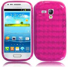 For AT&T Samsung Galaxy S3 MINI i8190 TPU CANDY Gel Flexi Skin Case Phone Cover