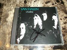Van Halen Rare Authentic Signed CD OU812 Sammy Hagar Chickenfoot Montrose Cabo