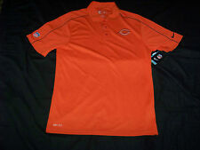 Nike Men's DriFit Chicago Bears On Field Apparel Polo Shirt NWT Small