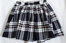 GIRLS M 7 8 RED WHITE BLUE PATRIOTIC PLAID SKORT NWT ~ THE CHILDREN'S PLACE