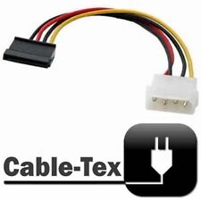 Cable-Tex SATA Power to MOLEX Adaptor Lead / Convertor