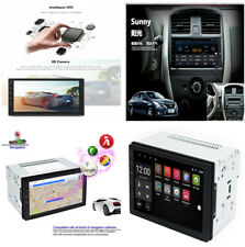 2 DIN 7'' Car HD Capacitive GPS Navigation Bluetooth AM/FM/R.D.S Radio Android