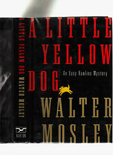 WALTER MOSLEY-LITTLE YELLOW DOG 1996 SIGNED LIKE NEW 1ST ED HB/DJ-PI RAWLINS