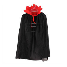 Kids Halloween Costume Theater Prop Death Hoody Cloak Devil Long Tippet Cape HP