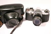 Praktica Nova B 35mm SLR Film Camera With Meyer-Optik Gorlitz 2.8 / 50 Lens