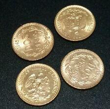1945 Mexico Gold Dos Pesos BU Oro Mexicano Uncirculated