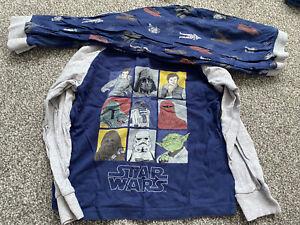 Boys Star Wars Pyjamas Age 5-6