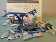 Vintage Revell Honda Scrambler 1/8 Junkyard Parts Lot