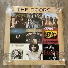 The Doors Jim Morrison American Prayer 1995 Album Promo Square Poster Original