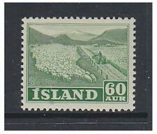 Lightly Hinged Single Icelandic Stamps