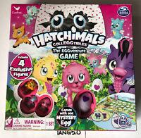New Hatchimals Colleggtibles The Eggventure Game Mystery Egg Adventure Board NIB