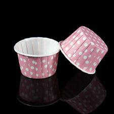 Mini Papier Kuchen Tasse Liner Backen Cupcake Fällen Muffin Kuchen bunte 20Pc RA