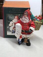 "Vintage Santas From Around The World 1997 Santa Figurine ""Traditional Santa"""