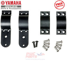 YAMAHA YXZ1000R OEM Accessory Mount Clamps for Light Kits NEW 2HC-F34A0-V0-00