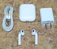 Apple AirPods White Wireless In Ear (Ear Buds) Headphones OEM Free Shipping
