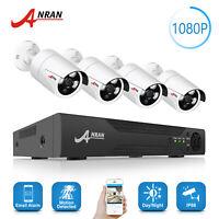 ANRAN 8CH 1080P HD DVR IR CCTV AHD 4×2.0MP Security Camera System Realtime HDMI