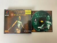 TOMB RAIDER BIG BOX SONY PLAYSTATION 1 PS1 PS2 PS3 GAME WITH MANUAL UK PAL