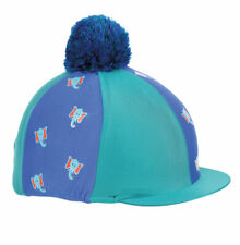 Shires Tikaboo Hat Cover - Childrens Horse Riding Helmet Silk ONE SIZE