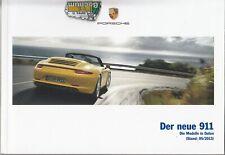 Porsche 911 Carrera 991 Preisliste  116  Seiten    05  - 2013