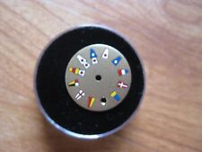 CORUM MULTI COLOR GOLD FLAG DIAL19.5MM DATE DIAL ONLY NO WATCH