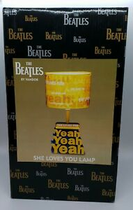 "The Beatles She Loves You ""Yeah, Yeah, Yeah"" Lamp #64143"