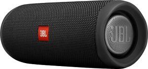 JBL Flip 5 Portable Waterproof Portable Bluetooth Speaker - Black