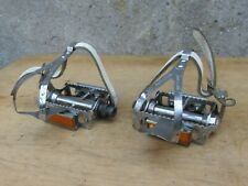 LYOTARD 36 VINTAGE PEDALES POUR VELO COURSE ANCIEN BICYCLE PEDALS ROAD