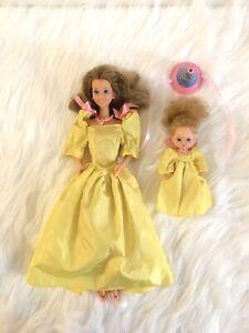 Barbie Maman Et Bebe Surprise Party Famille Doucoeur Heart Family Mattel 1986