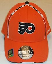 NHL Philadelphia Flyers Pro Shape Flex Hat By Reebok - Adult S/M - New
