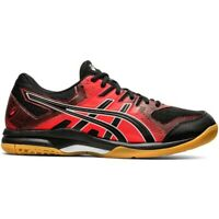 Asics Gel Rocket 9 black-red 1071A030 003 men's volleyball shoes