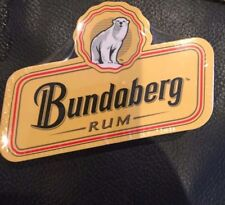 Bundaberg Rum Bar Towel Compressed Expands to 23cm x 50cm - new , man cave item