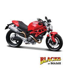 1:12 Maisto escala Ducati Monster 696 Rojo Moto Diecast Modelo Kit