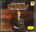 Carlo Maria GIULINI: BRUCKNER Symphony No.8 Wiener Philharmoniker 2CD Sinfonie