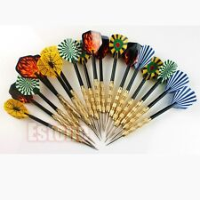 18 pcs(6 sets) of Steel Tip Dart Darts With Nice Flight Flights Hot